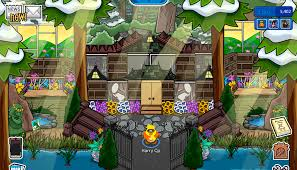club penguin background halloween club penguin igloo ideas house igloos