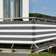 windschutz fã r balkone balkon sichtschutz balkonschutz 3m 5m zaun windschutz sichtblende