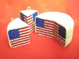 Americain Flag Clay Made Easy American Flag Pattern Cake Youtube