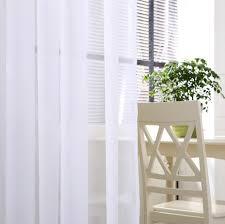 Plain White Curtains Get Cheap White Ladder Yarn Aliexpress Alibaba