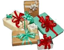 Beautifully Wrapped Gifts - debt free cashed up and laughing the cheapskates way to living