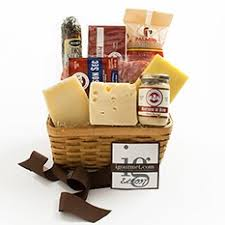 Meat And Cheese Baskets Meats And Seafood Buy Gift Baskets And Boxes By Food Type Online