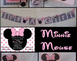 minnie mouse baby shower minnie mouse baby shower invitations pink and gold minnie