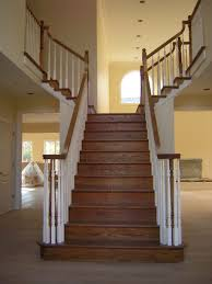 Wood Interior Handrails Wooden Stairs Railing Home Design By Larizza