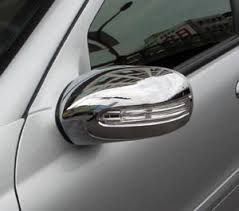 mercedes c class wing mirror mercedes c class w203 coupe chome mirror cover trim