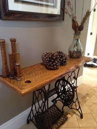 Corner Sewing Table by Best 25 Hallway Tables Ideas Only On Pinterest Hall Table Decor