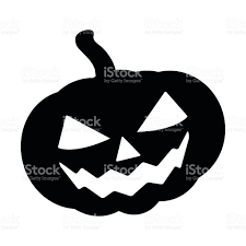 Halloween Vector Images Halloween Pumpkin Silhouette Vector Illustration Jack O Lantern