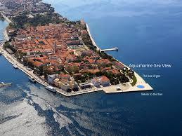 Sea Organ Aquamarine Sea View Apartment Zadar Croatia Booking Com