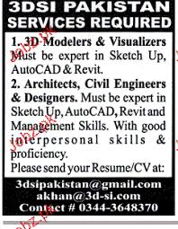 Visualizer Resume 3d Modelers U0026 Visualizers Architects Job Opportunity 2017 Jobs