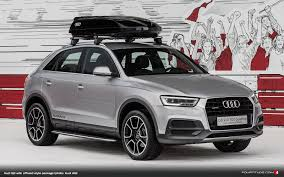 Audi Q7 Off Road - audi offroad style package and more introduced for q3 at