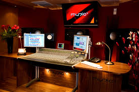 Studio Production Desk by Leading Audio Creation And Post Production Company Music 4 Upgrade
