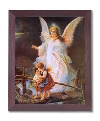 Garden Ridge Wall Art by Amazon Com Guardian Angel With Children On Bridge Religious Wall