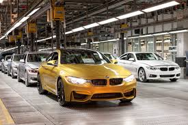 bmw factory robots bmw f82 m4 production line wallpapers