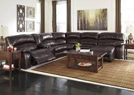 furniture expo baton rouge la damacio dark brown reclining