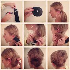 put your hair in a bun with braids sock bun put a twist on the everyday boring sock bun by putting