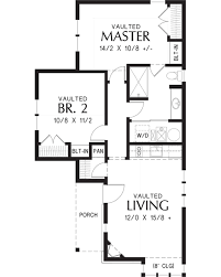 2200 Sq Ft House Plans by Cottage Style House Plan 2 Beds 1 00 Baths 782 Sq Ft Plan 48 653