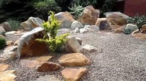 ein steingarten im alpinen stiel youtube