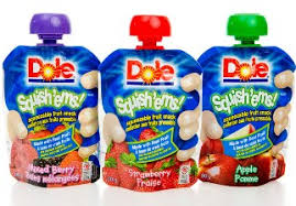 dole fruit snacks fruit snack packaging launched into space packaging digest