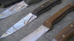 handmade custom outdoor knives made in cornwall chyrose custom