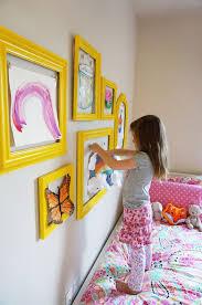 Kids Art Room by 15 Diy Ideas To Refresh Your Living Room 12 Kids Artwork