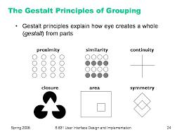 learn the gestalt laws of perceptual organization gestalt laws