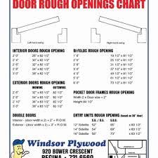 Standard Door Width Interior 48 Standard Interior Door Sizes