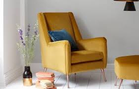 Yellow Velvet Armchair Chairs Chaise Longue Swivel And Snuggle Chairs Dfs