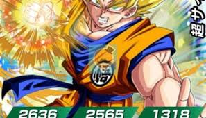 Dragon Ball Dokkan Battle Rare Super Rare Ssr