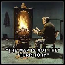 the map is not the territory aeonlux the map is not the territory jpeg posters