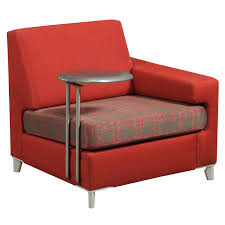 Tuohy Reception Desk Tuohy Used Right Tablet Lounge Chair Red National Office
