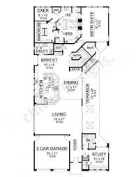 Contemporary House Plan Montpellier Contemporary House Plans Narrow Floor Plans