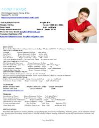 Child Actor Resume To Write An Acting Resume For A Child