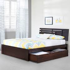 Design Of Double Bed With Box In India