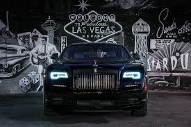 wrapped rolls royce 2017 rolls royce wraith black badge first drive