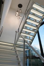 Glass Stairs Design References Stairplane Revolutionary Staircase Design Glass