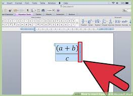 How To Make A Floor Plan On Microsoft Word by 4 Ways To Insert Equations In Microsoft Word Wikihow