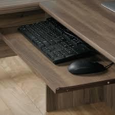 Corner Computer Desk With Storage Harbor View Corner Computer Desk 417586 Sauder