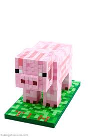 minecraft pig cake baking obsession