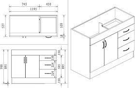 Kitchen Sink Base Cabinet Dimensions Kitchen Sink Cabi Size Sink Cabi Dimensions Marvelous Sink Base