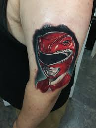 red ranger hyper realism audie fulfer high class tattoo fresno
