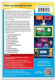 amazon com letter sounds dvd by rock u0027n learn rock u0027n learn