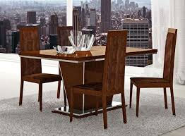 Dining Room Furniture  Tables  Chairs  Caprice Modern Dining - Walnut dining room chairs
