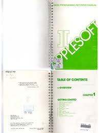 applesoft basic programming reference manual