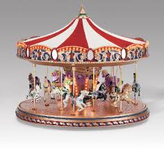 porcelain carousel unicorn box carousel boxes