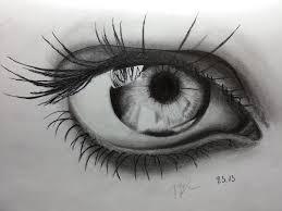 pencil drawing eye by ozastark on deviantart