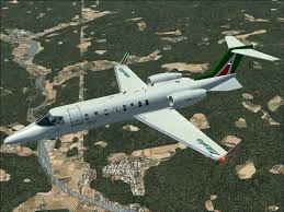 alitalia learjet 45 for fsx
