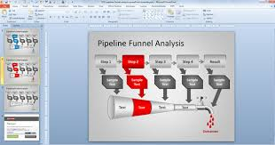 free pipeline funnel analysis powerpoint template free
