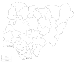 Blank Map Of The 50 States by Nigeria Free Map Free Blank Map Free Outline Map Free Base Map