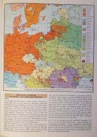 East Europe Map by Language Map Eastern Europe 1923 By Arminius1871 On Deviantart