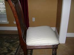 Dining Room Chair Pads And Cushions How To Recover A Chair Seat Cushion Vanity Seat Cushion Or